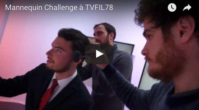 Défi #MannequinChallenges relevé à TVFIL78
