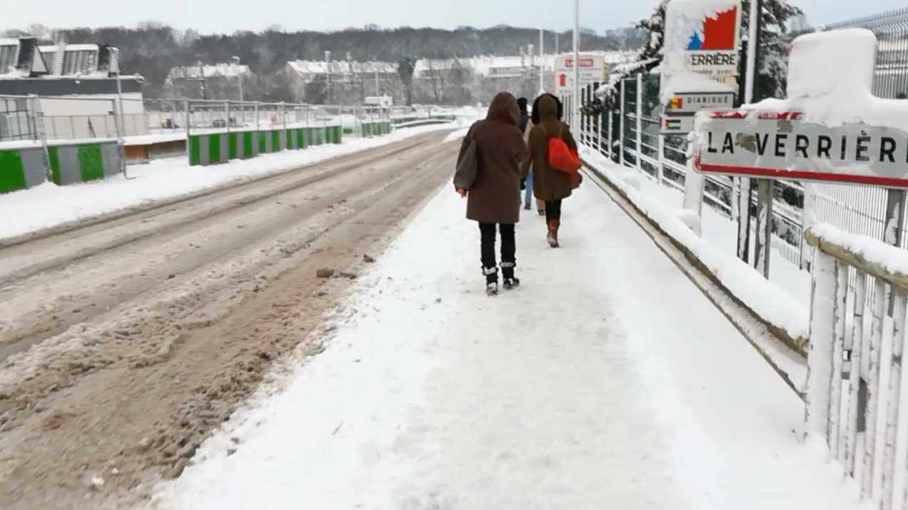 #DiaryOfWebmaster : Un jour de neige ❄️ ou la grande aventure pour aller jusqu'à son travail ⛄