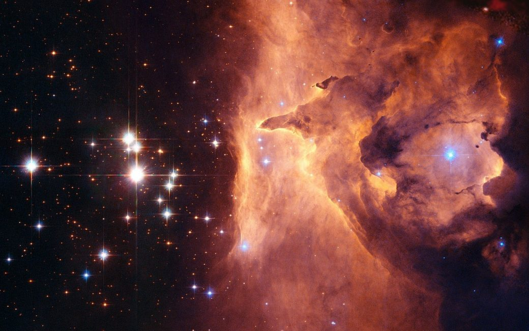 Une nébuleuse, pouponnière d'étoiles