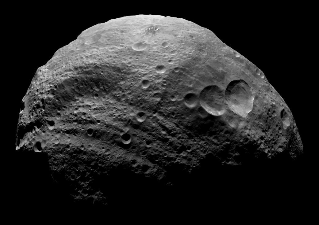 l'astéroïde Vespa, lors de la mission Dawn