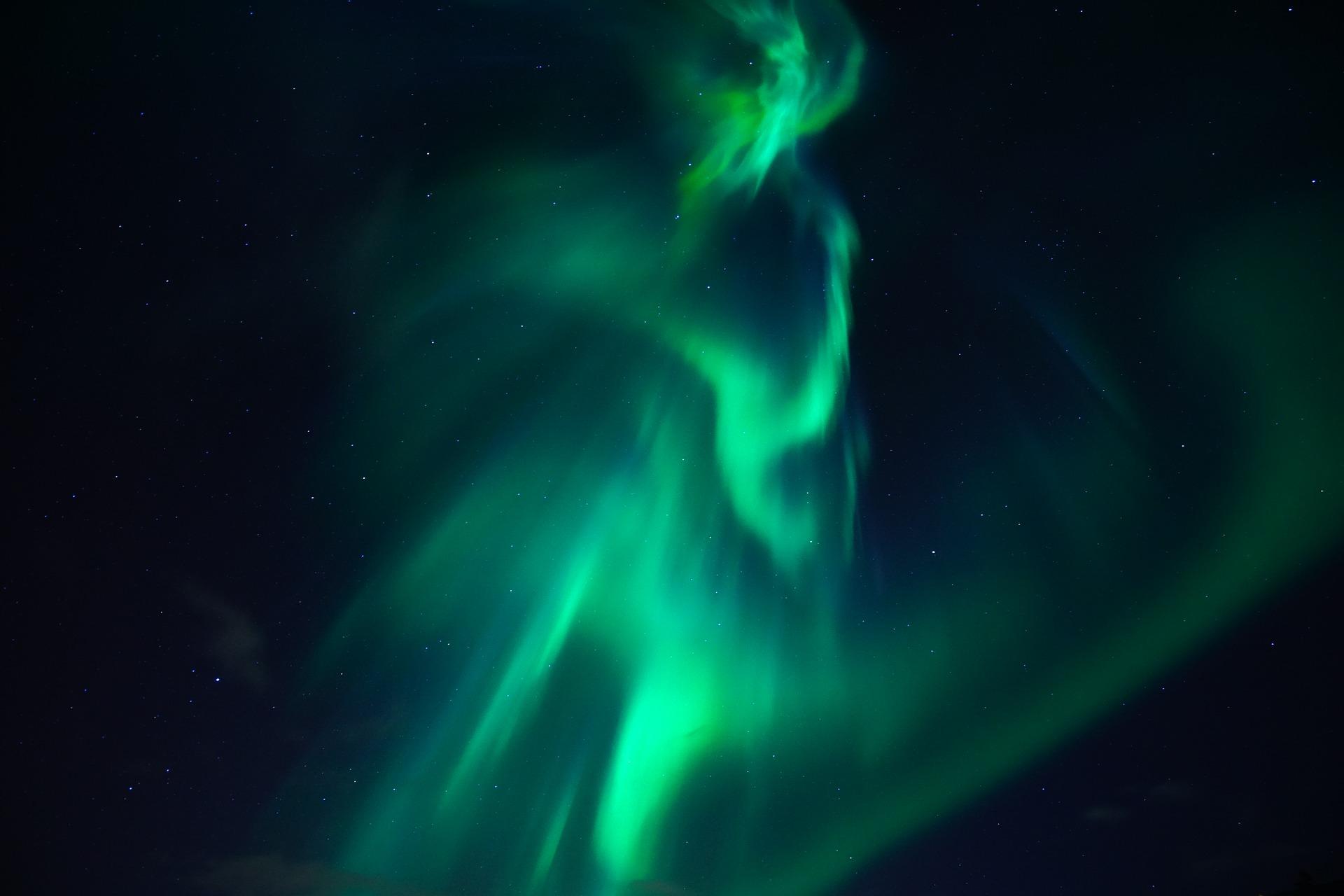 Les aurores boréales, en mode Halloween